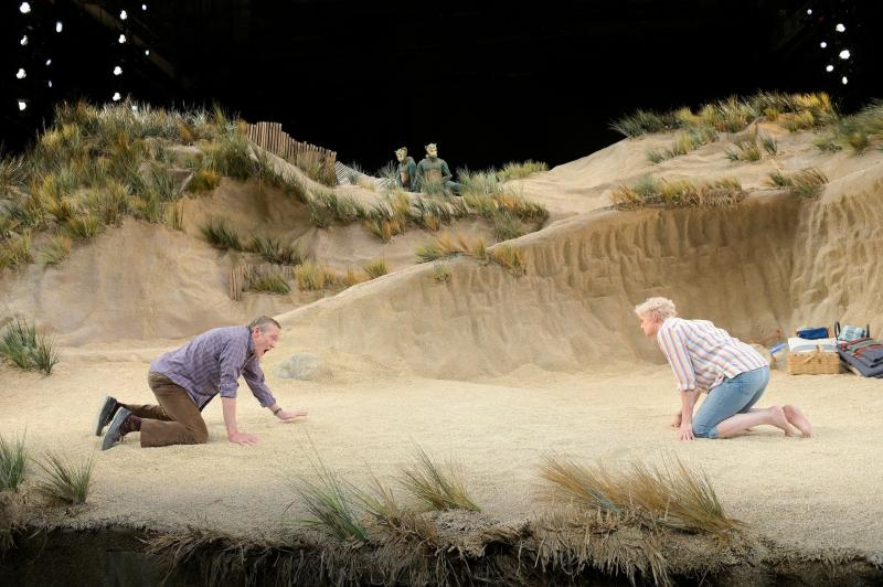 BWW Review: SEASCAPE at American Conservatory Theater is a lighter, more optimistic side of Edward Albee