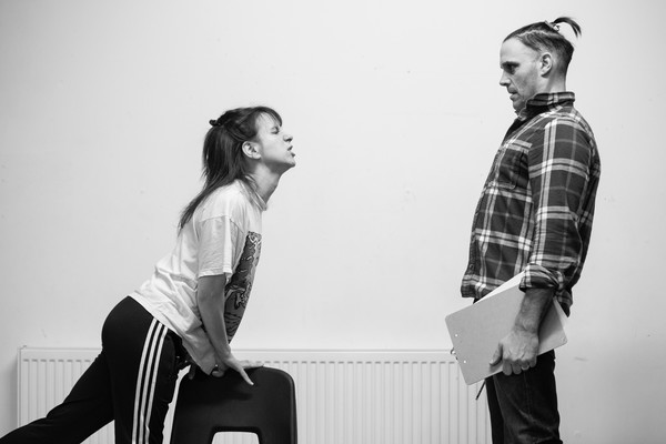 Photo Flash: In Rehearsal with KEITH? A COMEDY