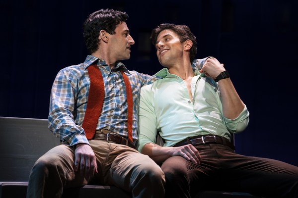 Max von Essen and Nick Adams, from the First National Tour of FALSETTOS