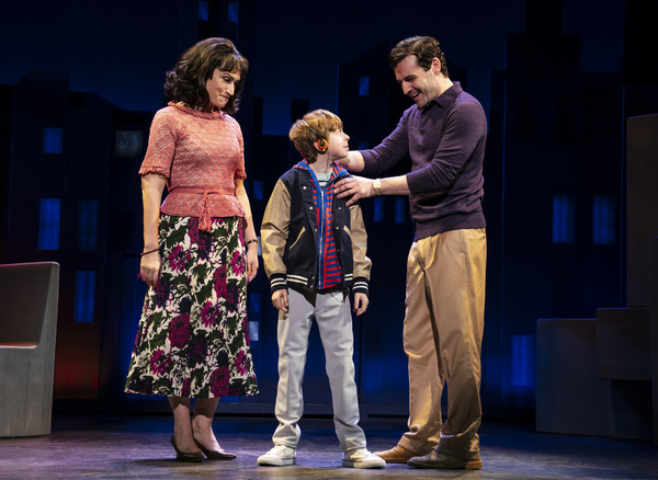 Eden Espinosa, Thatcher Jacobs and Max von Essen, from the First National Tour of FALSETTOS