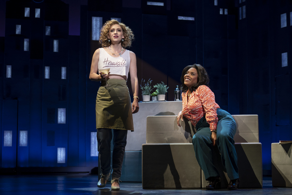 Audrey Cardwell and Bryonha Marie Parham, from the First National Tour of FALSETTOS