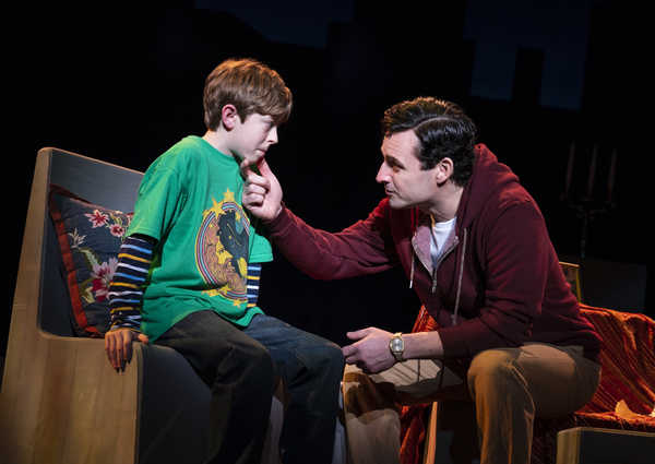 Thatcher Jacobs and Max von Essen, from the First National Tour of FALSETTOS
