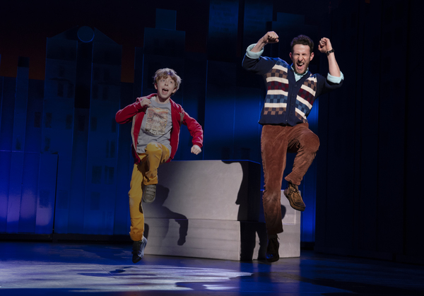 Thatcher Jacobs and Nick Blaemire, from the First National Tour of FALSETTOS