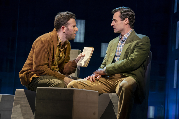 Nick Blaemire and Max von Essen, from the First National Tour of FALSETTOS