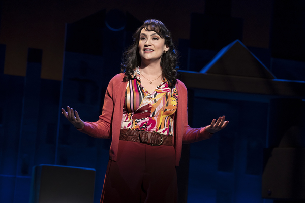 Eden Espinosa, from the First National Tour of FALSETTOS