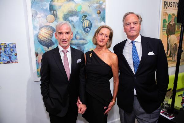 Chase Thomas, Theodora Aspegren & Robert Bailey Photo