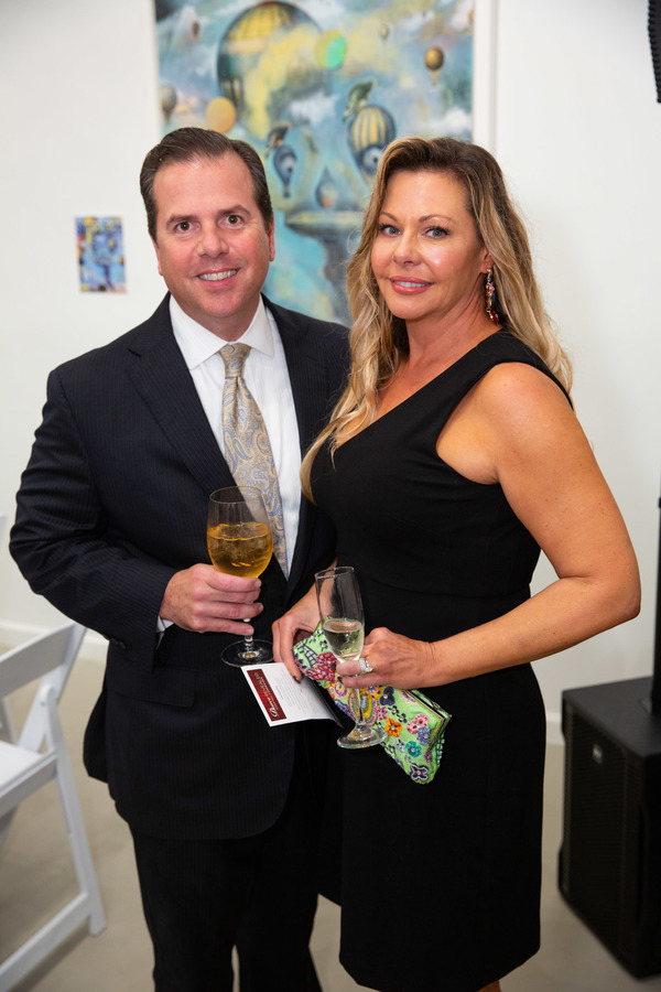 Photo Flash: Ballet Palm Beach Welcomes 130 Supporters to DANCE REVEALED at the Fritz Gallery
