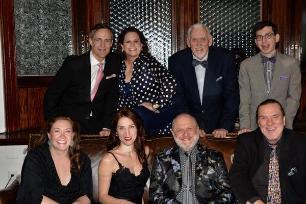Howard McGillin, Cady Huffman, Ji Brochu, Aaron Weinstein, Mary Claire Curran, Mara Davi, Henry Aronson and Jon Weber