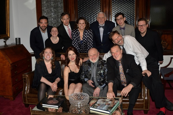Stephen Brown-Fried (Associate Director), Armelle Harper (Stage Manager), Howard McGillin, Cady Huffman, Ji Brochu, Aaron Weinstein, David Staller (Director), Nathan K. Claus (Stage Manager), Mary Claire Curran, Mara Davi, Henry Aronson and Jon Weber