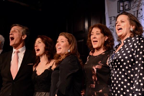 Howard McGillin, Mara Davi, Mary Claire Curran, Karen Ziemba and Cady Huffman