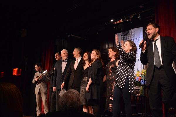 Aaron Weinstein, Jon Weber, Jim Brochu, Howard McGillin, Mara Davi, Mary Claire Curran, Karen Ziemba, Cady Huffman and David Staller