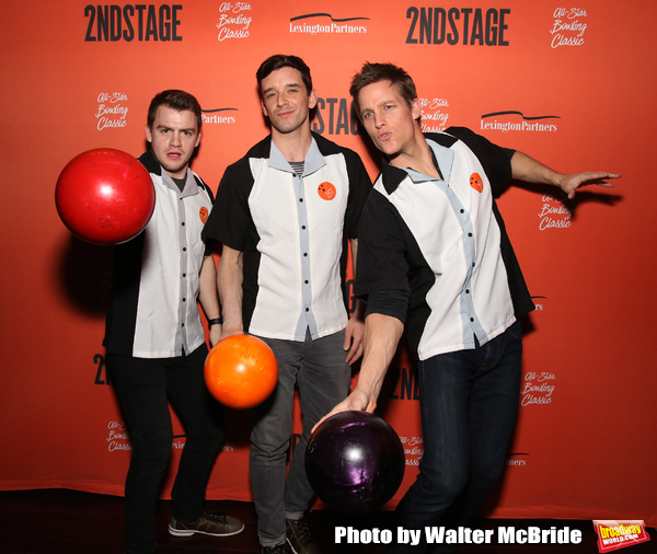Jack DiFalco, Michael Urie and Ward Horton