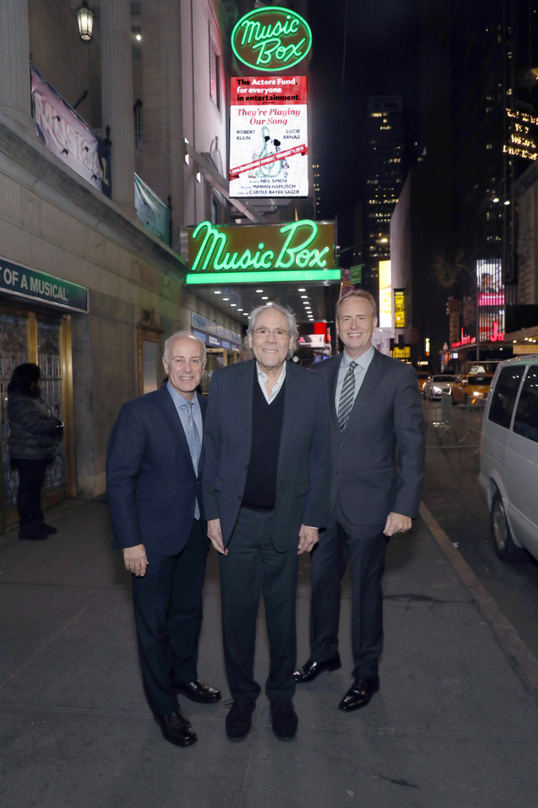 Joe Benincasa, Robert Klein, Robert Greenblatt  Photo