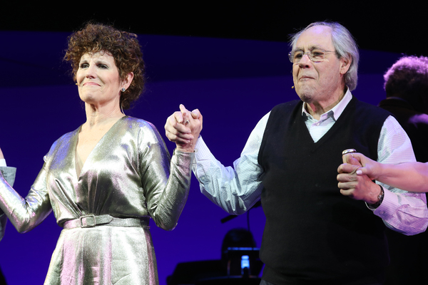 Lucie Arnaz and Robert Klein  Photo