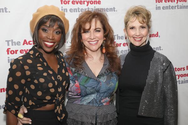 Housso Semon, Debbie Gravitte and Ivy Austin