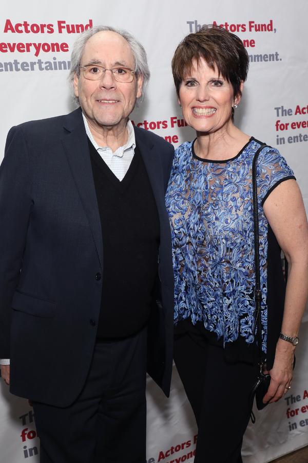 Robert Klein and Lucie Arnaz Photo