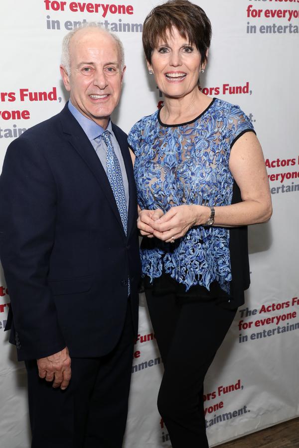 Joe Benincasa and Lucie Arnaz Photo