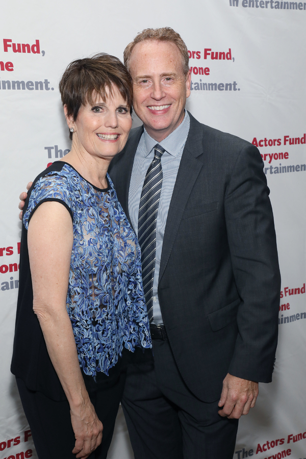 Lucie Arnaz, Robert Greenblatt Photo