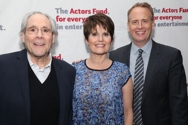 Robert Klein, Lucie Arnaz and Robert Greenblatt  Photo