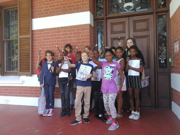 Photo Flash: Cape Town's Young Wizards In Training Celebrate Their First Day Of 'Magic Classes' At World-Famous College Of Magic