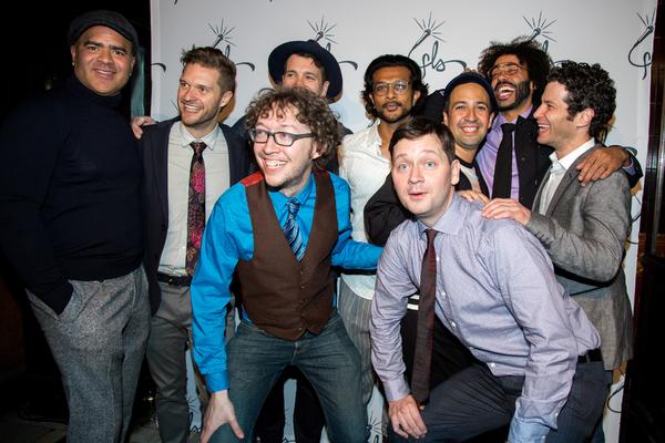 Chris Jackson, Andrew Bancroft, Arthur Lewis, Anthony Veneziale, Utkarsh Ambudkar, Bi Photo