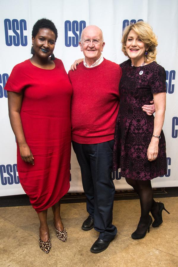 Photo Flash: Cynthia Nixon, Victoria Clark, and More Celebrate Opening Night of Strindbergs in Rep