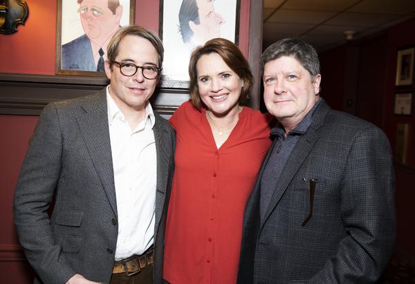 Matthew Broderick, Jennifer Laura Thompson and Michael McGrath