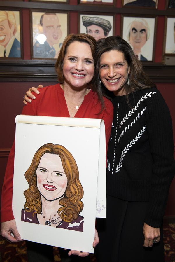 Jennifer Laura Thompson and Stacey Mindich Photo
