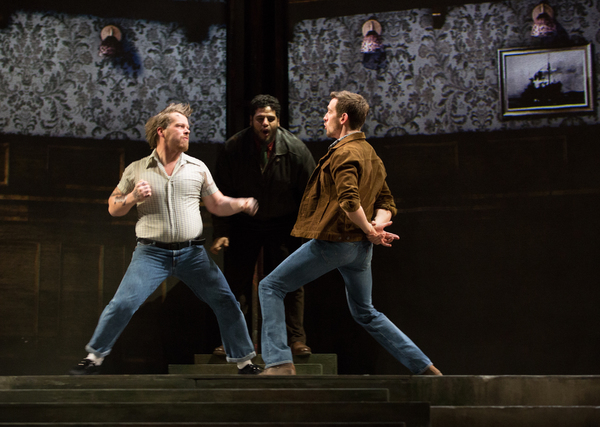 Photo Flash: Get A First Look At Sting In THE LAST SHIP In Toronto