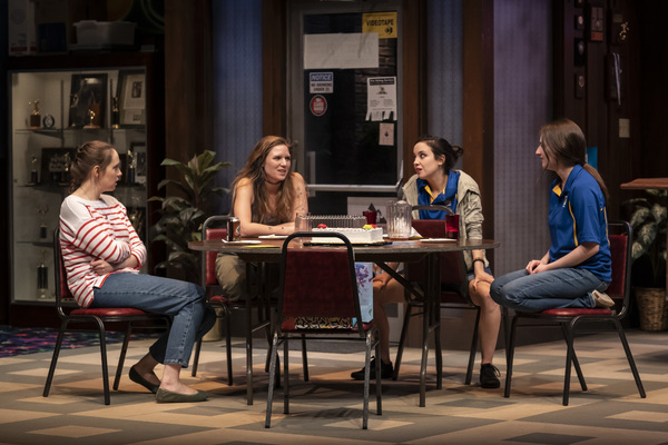 Anne Thompson (Sharlene), Heather Chrisler (Jaycee), Hayley Burgess (Clarice) and Becca Savoy (Sam)
