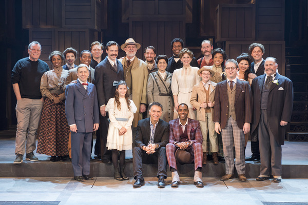 Brian Stokes Mitchell and the company of RAGTIME