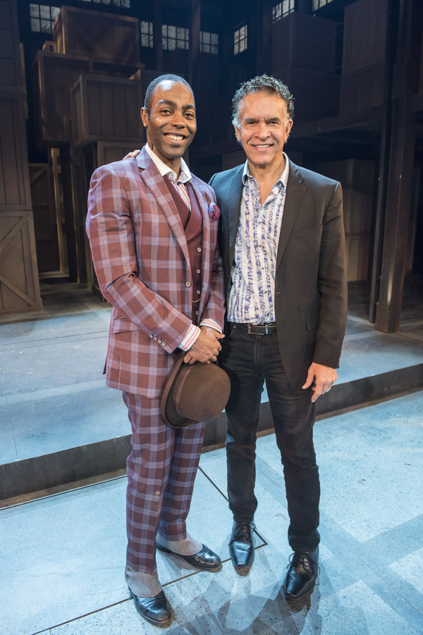 Clifton Duncan, Brian Stokes Mitchell