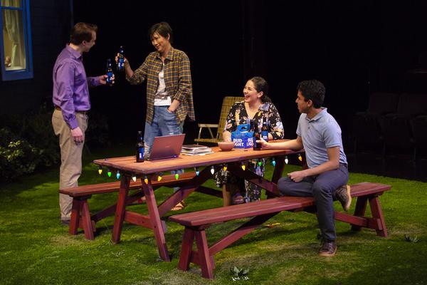 Brian Sgambati, Cindy Cheung, Elizabeth Ramos, Paul Pontrelli Photo
