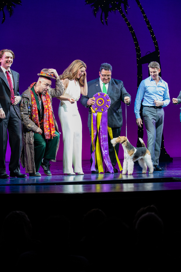 Photo Coverage: Westminster Dog Show Winner Makes Broadway Debut in PRETTY WOMAN