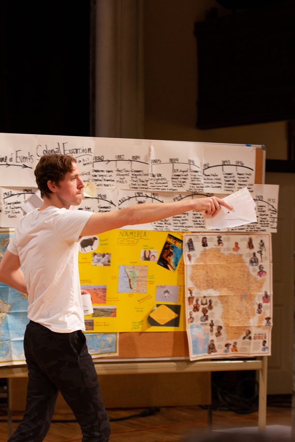 Photo Flash: In Rehearsal with SYA's WE ARE PROUD TO PRESENT A PRESENTATION...