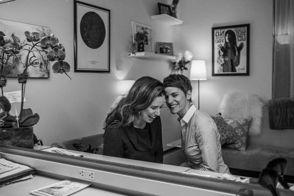 Jenn Colella and Chilina Kennedy