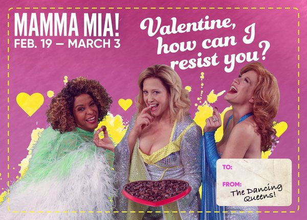 Photos: Celebrate Valentine's Day With These Cards From TUTS' MAMMA MIA!