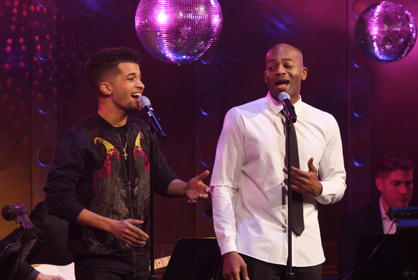 Jordan Fisher and Brandon Victor Dixon