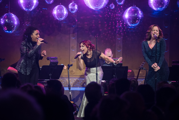 Photo Flash: Cast Members Of RENT, NEXT TO NORMAL, HADESTOWN And More Celebrate 40 Years Of New York Theatre Workshop