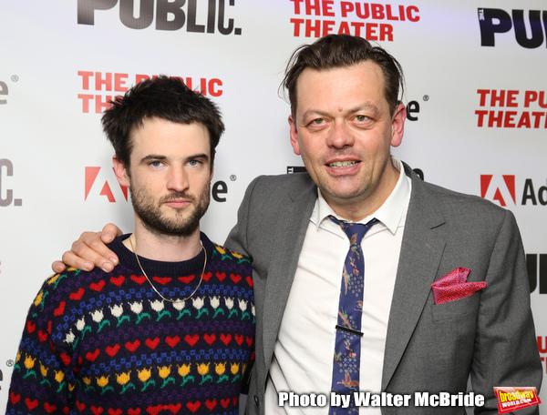 Tom Sturridge and Simon Stephens Photo