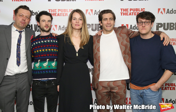 Simon Stephens, Tom Sturridge, Carrie Cracknell, Jake Gyllenhaal an Nick Payne