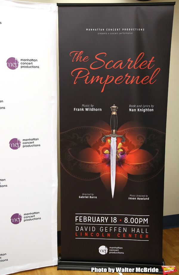 """The Scarlet Pimpernel"" at Pearl Rehearsal studio Theatre on February 14, 2019 in New York City."