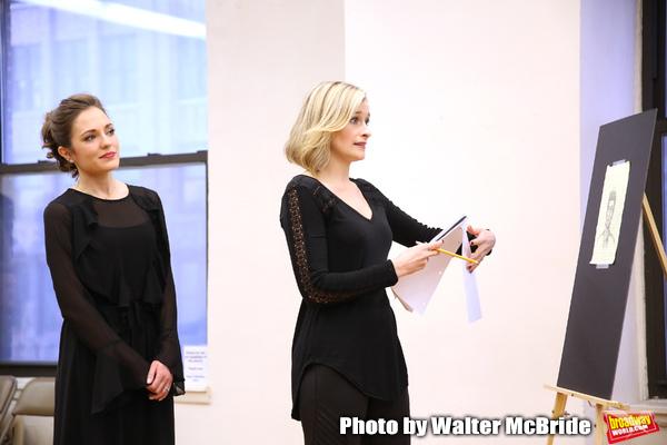 Laura Osnes and Dana Costello