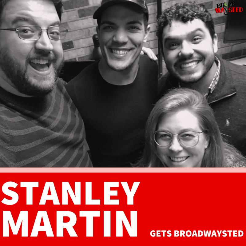 The 'Broadwaysted' Podcast Welcomes ALADDIN's Stanley Martin; Aaron J. Albano Hosts 'A. Hammered' with HAMILTON Tour Cast