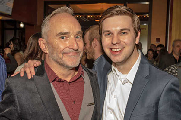 Photo Flash: Paramount Theatre Celebrates Another Big Hit At THE PRODUCERS Opening Night
