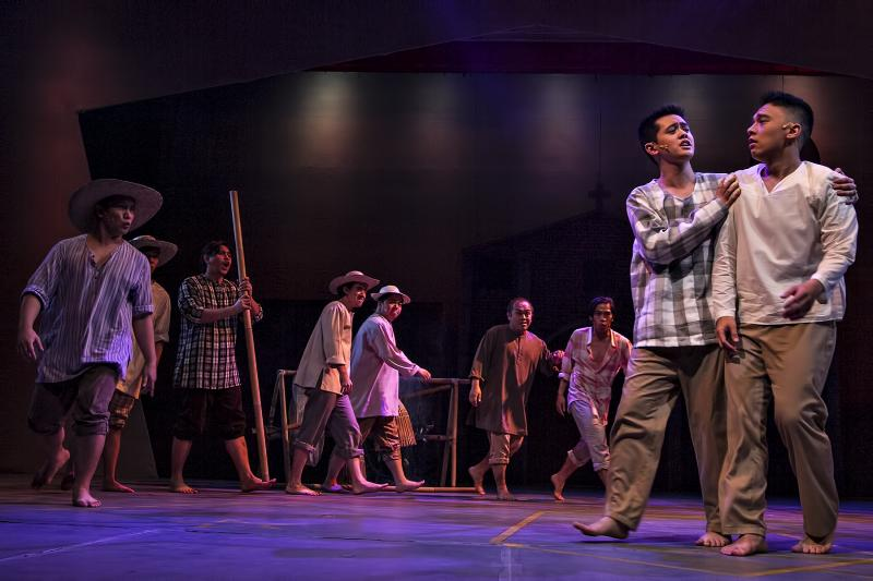 Photo Flash: Get a First Look at Repertory Philippines' New Production of MIONG
