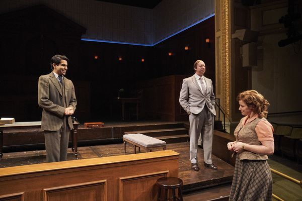 Photo Flash: First Look at Great Lakes Theater's WITNESS FOR THE PROSECUTION