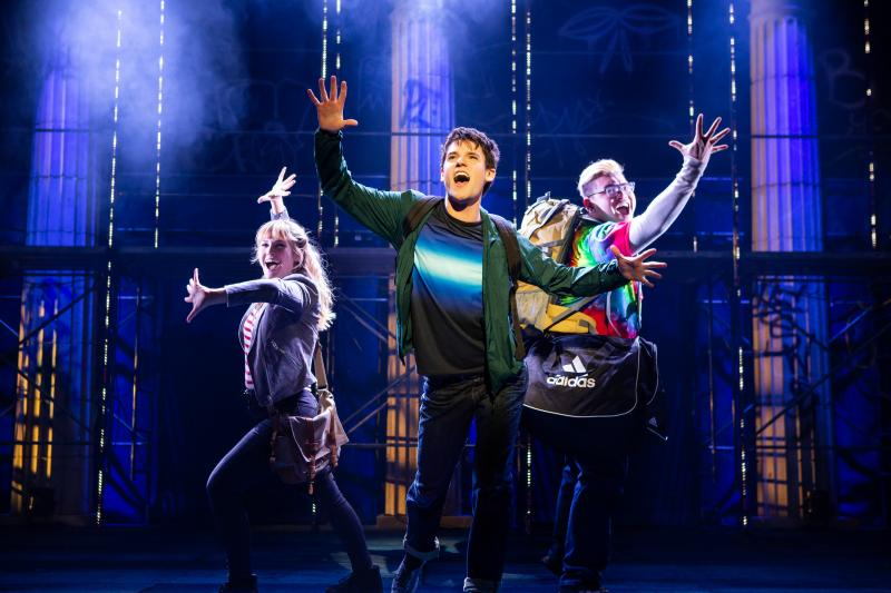 THE LIGHTNING THIEF: THE PERCY JACKSON MUSICAL Blazes through the Kennedy Center