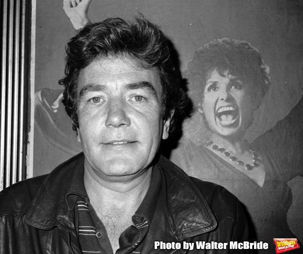 Albert Finney takes in a Broadway Show in New York City. September 30, 1981 Photo