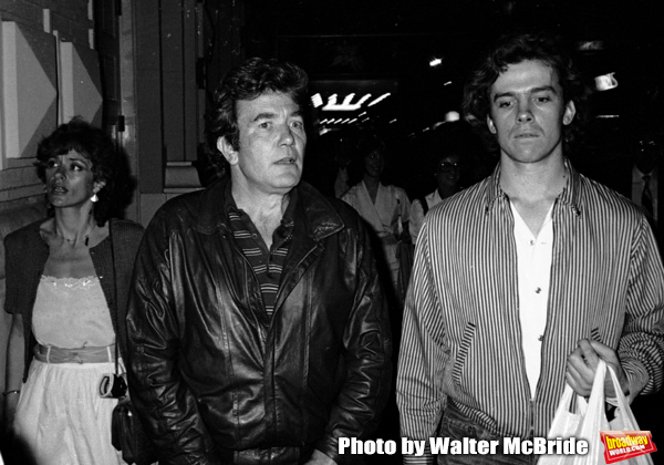 Albert Finney, Michael O'Keefe and Janet Suzman take in a Broadway Show in New York C Photo